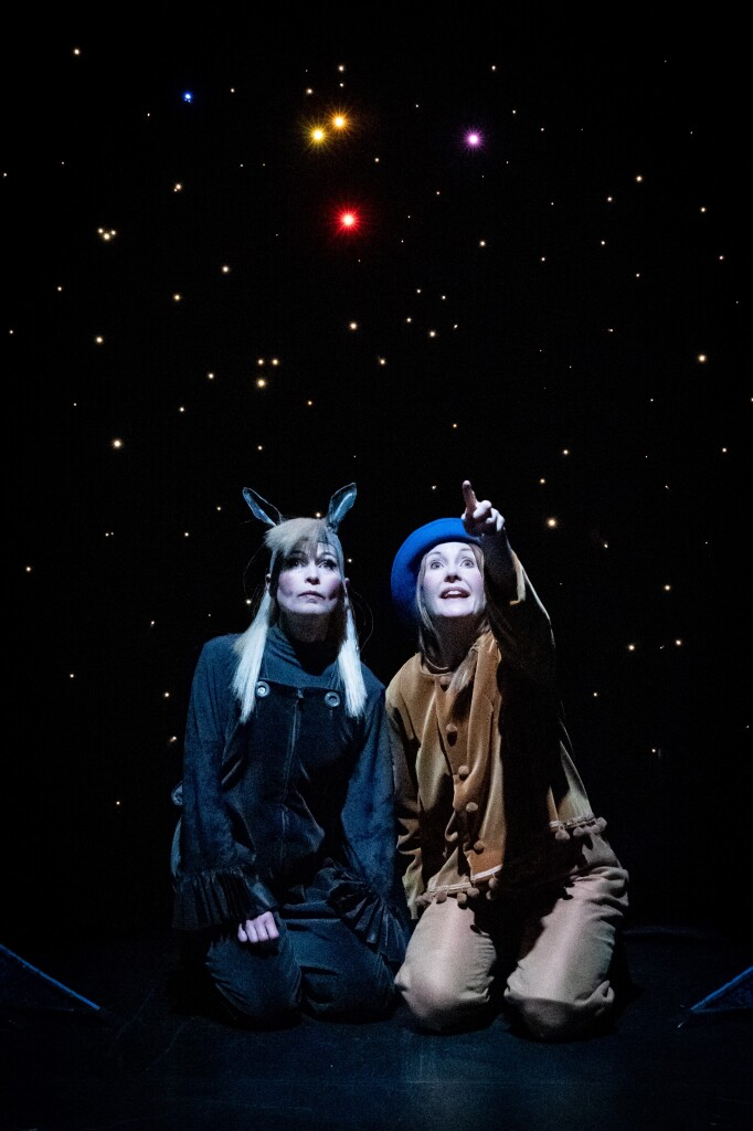 2 Pojken och stjärnan, Teater Sagohuset, med Åsa Hörling och Åsa Ahlander, foto Jan Vesala
