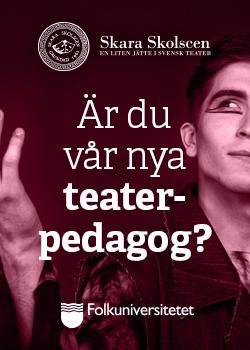 Teaterpedagogutbildning